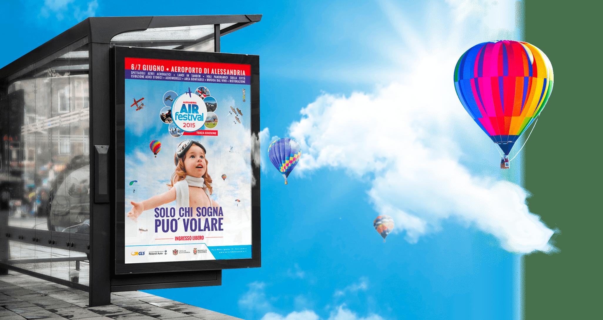 Campagna Pubblicitaria Air Festival 4